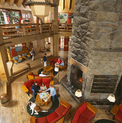 Timberline Lodge interior
