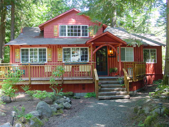 Vacation rentals offer home away from home oregon 39 s mt for Home away from home cabins
